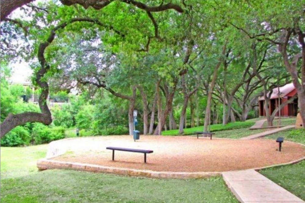 Onsite Bark Park at Carmel at Deerfield in San Antonio, Texas