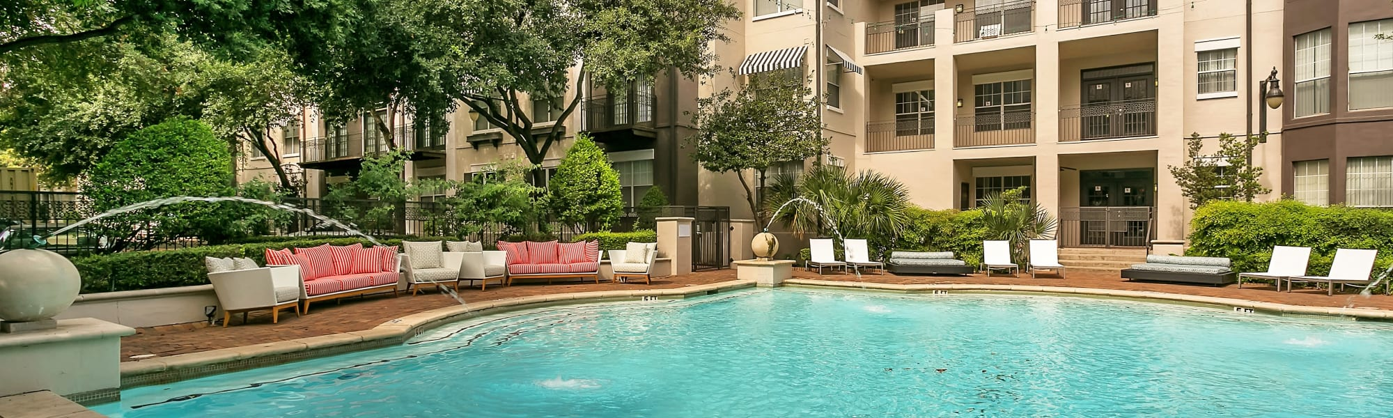 Amenities at Alesio Urban Center in Irving, Texas