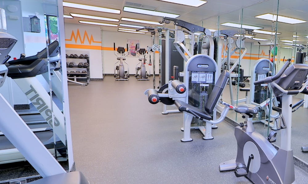 Fitness Center at Lakewood Hills Apartments & Townhomes in Harrisburg, PA
