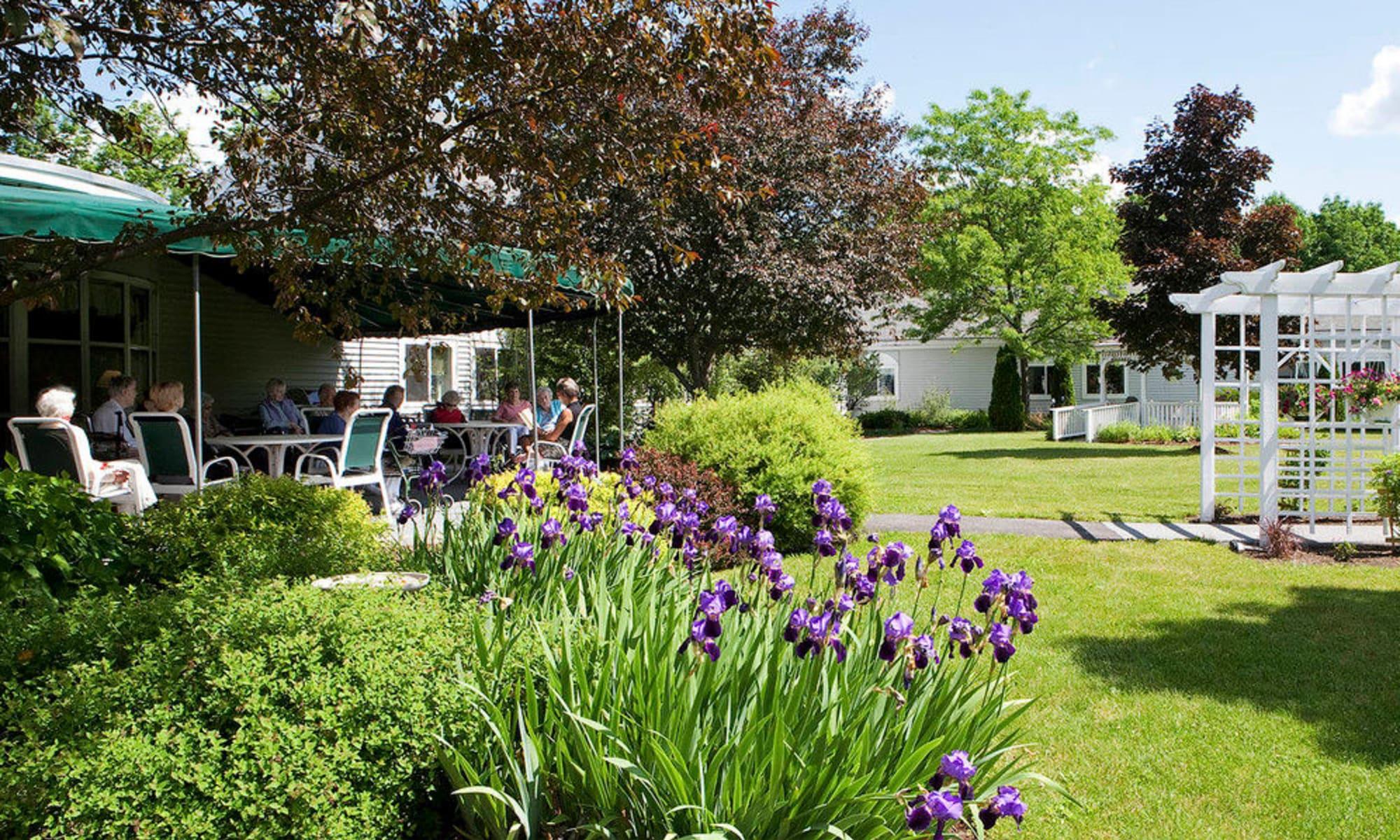 Senior living at Equinox Terrace in Manchester Center, Vermont
