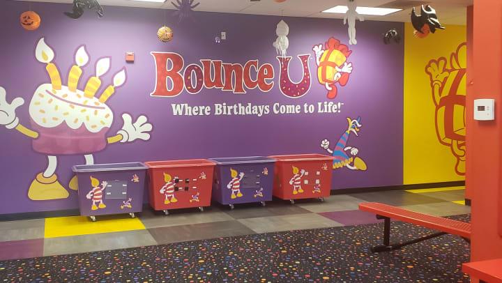 BounceU! Logo Roseville CA