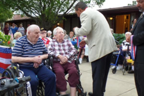 Veterans at Cardinal Village recognized by The Gloucester County Office of Veterans Affairs