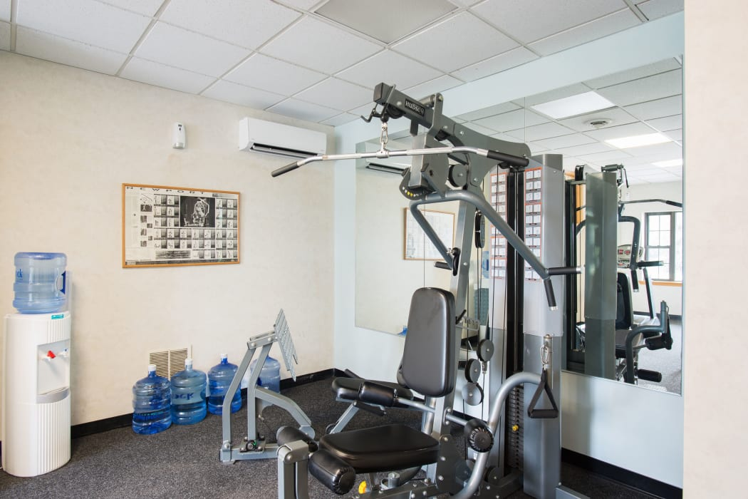Fitness Center at Loudon Arms Apartments in Albany