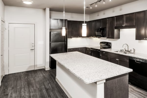 kitchen at Dwell at Legacy