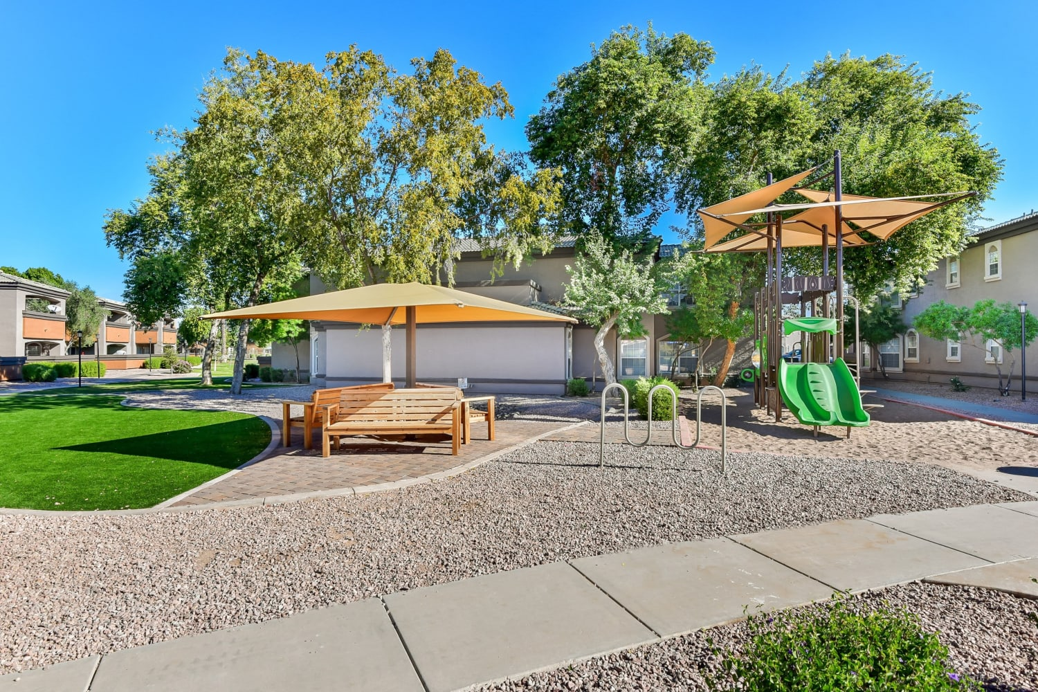 Playground at Luxe @ Ocotillo in Chandler, Arizona