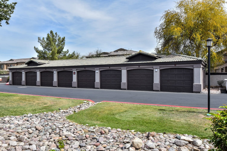 Garages at Luxe @ Ocotillo in Chandler, Arizona