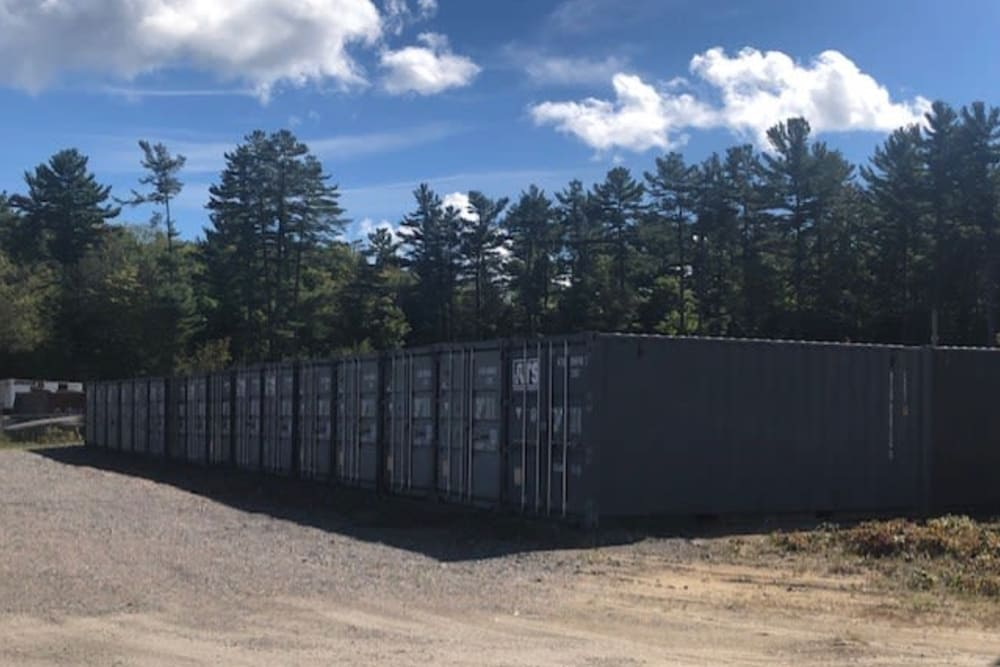 Large storage containers at Apple Self Storage - Port Carling in Port Carling, Ontario