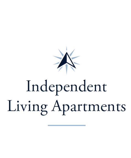 Independent living apartments at Waterford Crossing in Goshen, Indiana