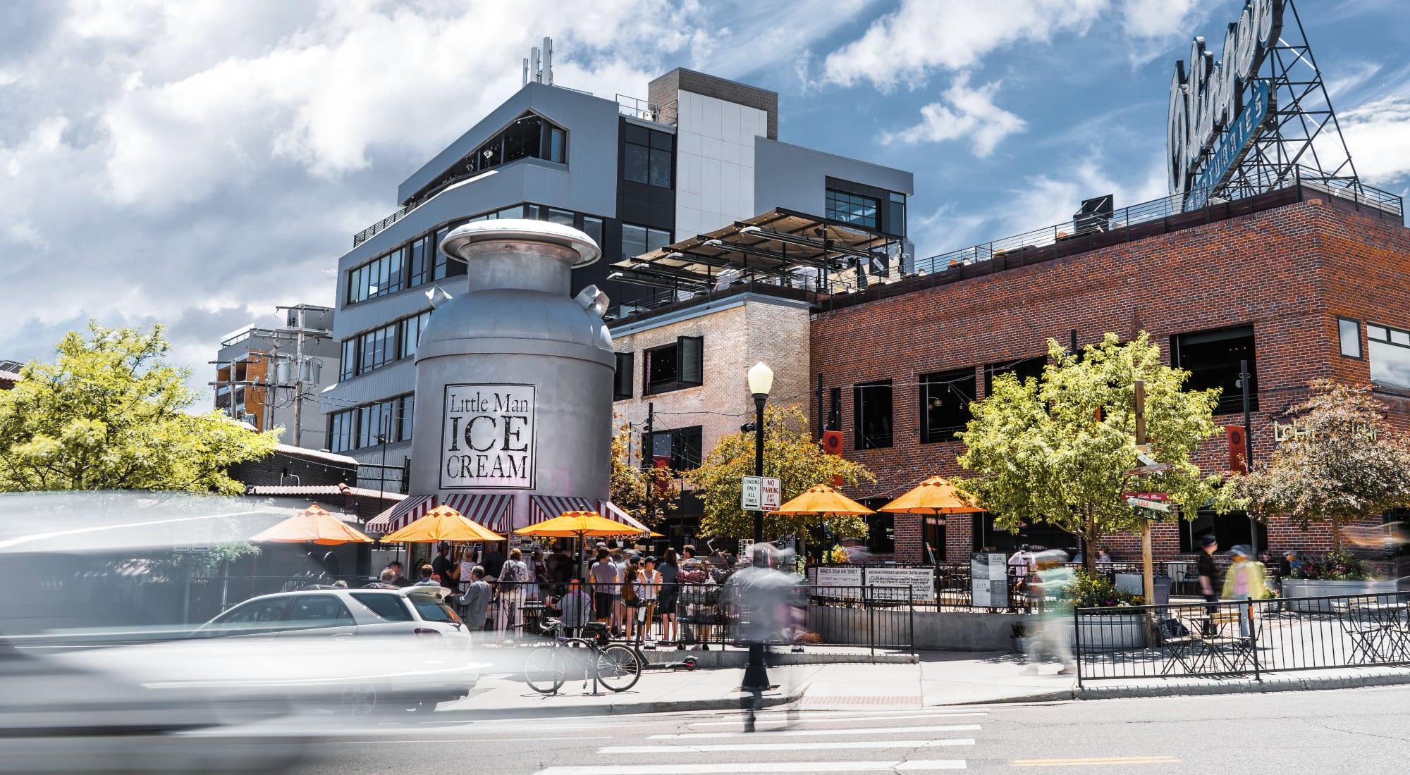Neighborhood info for The Alcott in Denver, Colorado