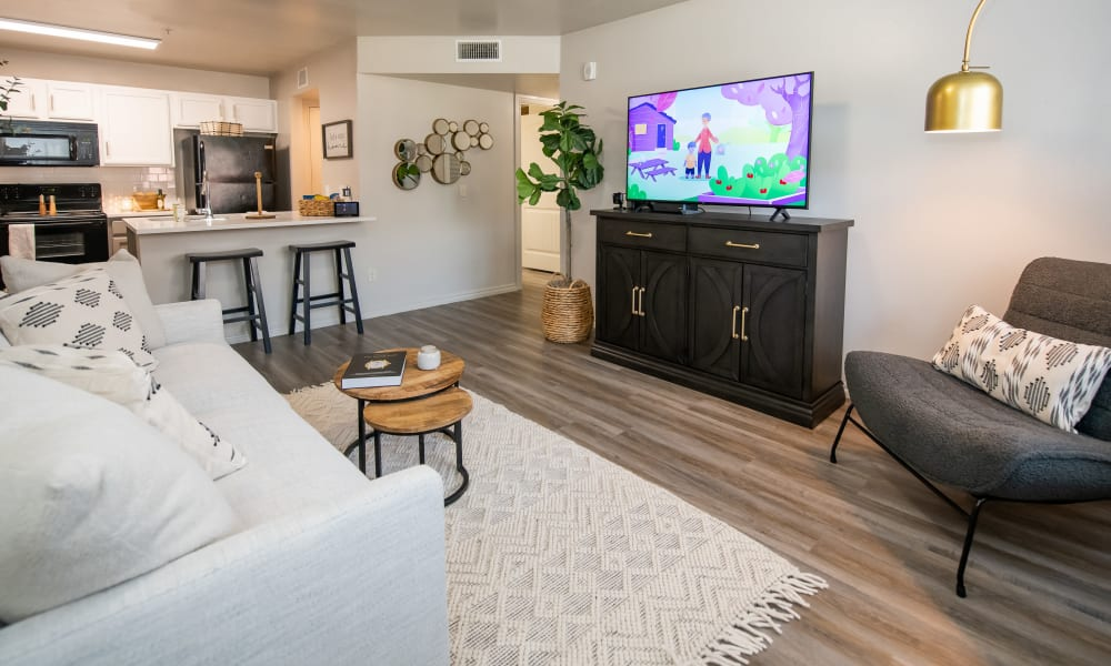 Living space at Cross Timber in Oklahoma City, Oklahoma