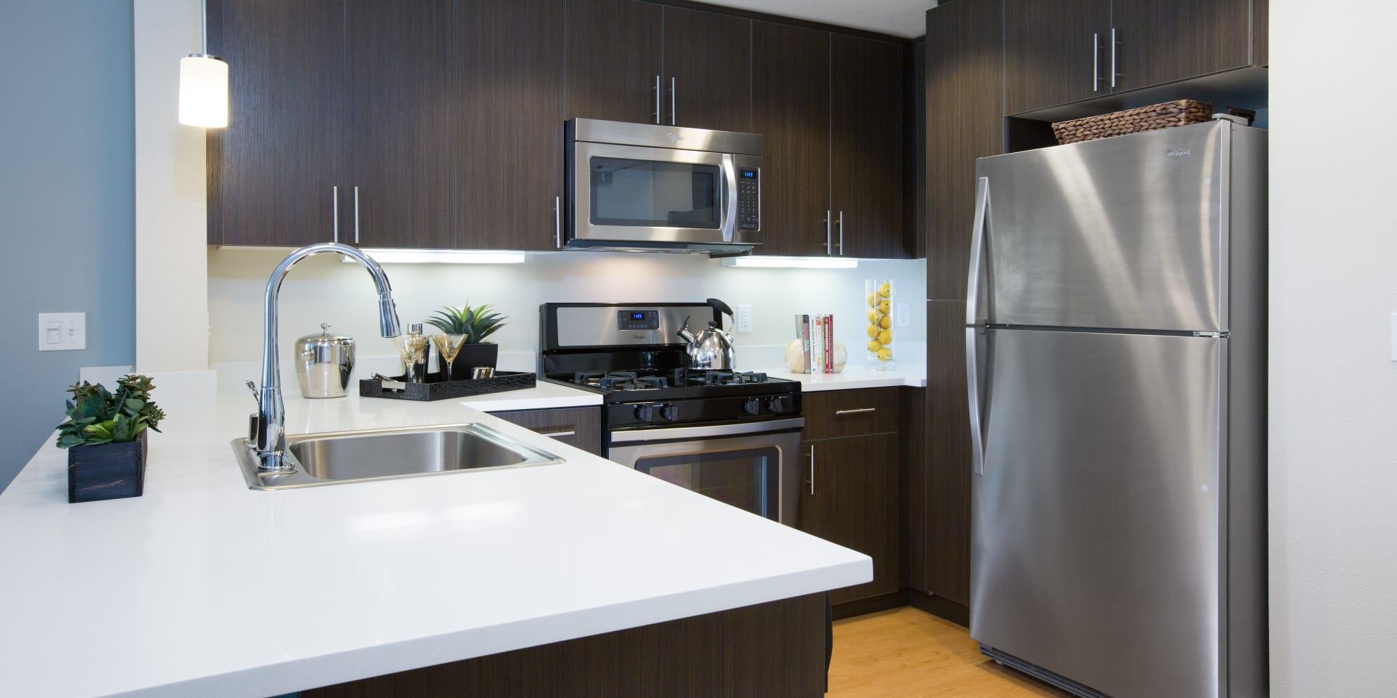 Apartments at Sofi Riverview Park in San Jose, California