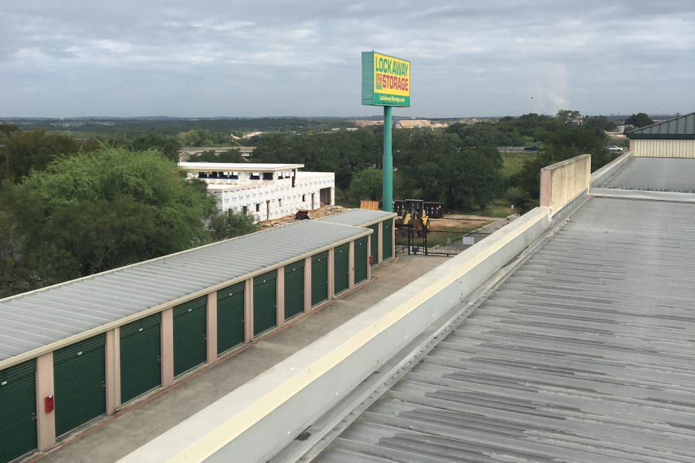Exterior Units and Signage at San Antonio, Texas near Lockaway Storage