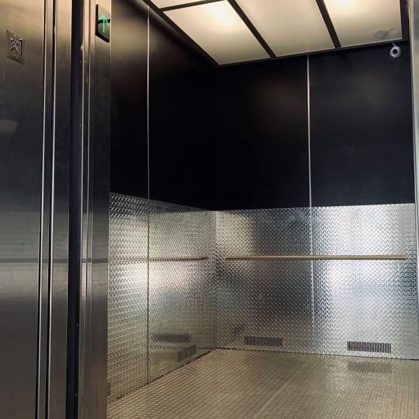 Inside of the elevator at My Neighborhood Storage Center in Jacksonville, Florida