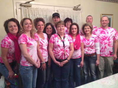 The caring team at Chestnut Knoll in Boyertown, Pennsylvania