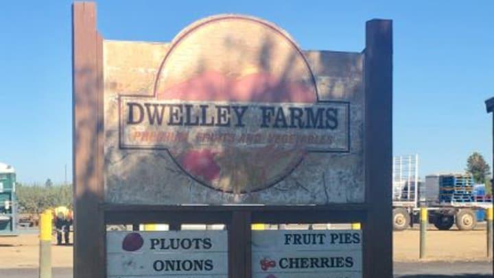 Dwelley Farms Sign Oakley California