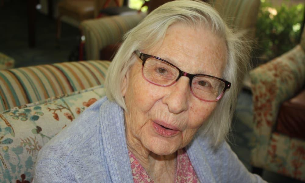 Senior woman at Regency Park Astoria in Pasadena, CA