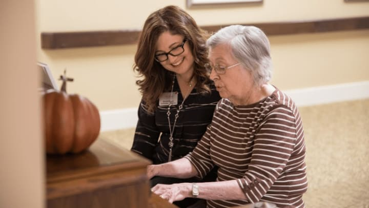 Transitioning your loved one to a memory care community often requires a delicate balance for everyone involved, including you.