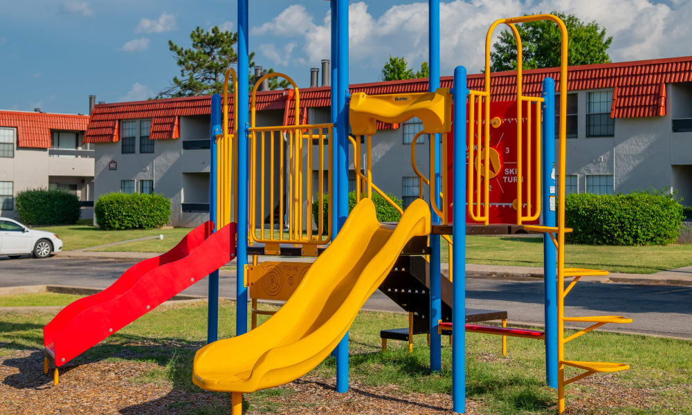 Onsite playground at Council Place Apartments in Oklahoma City, Oklahoma