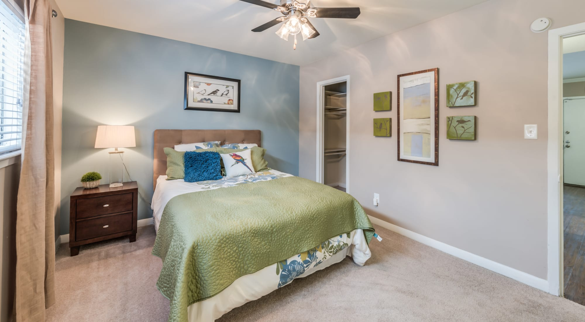 Floor plans at The Villages at Meyerland in Houston, Texas