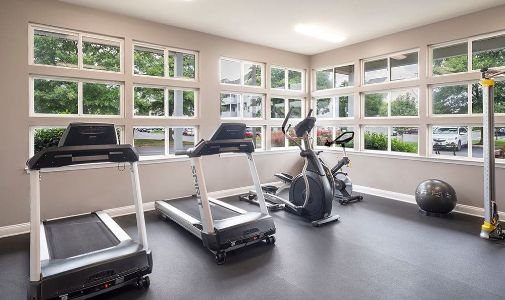 Cardio machines at Village of Westover in Dover, Delaware