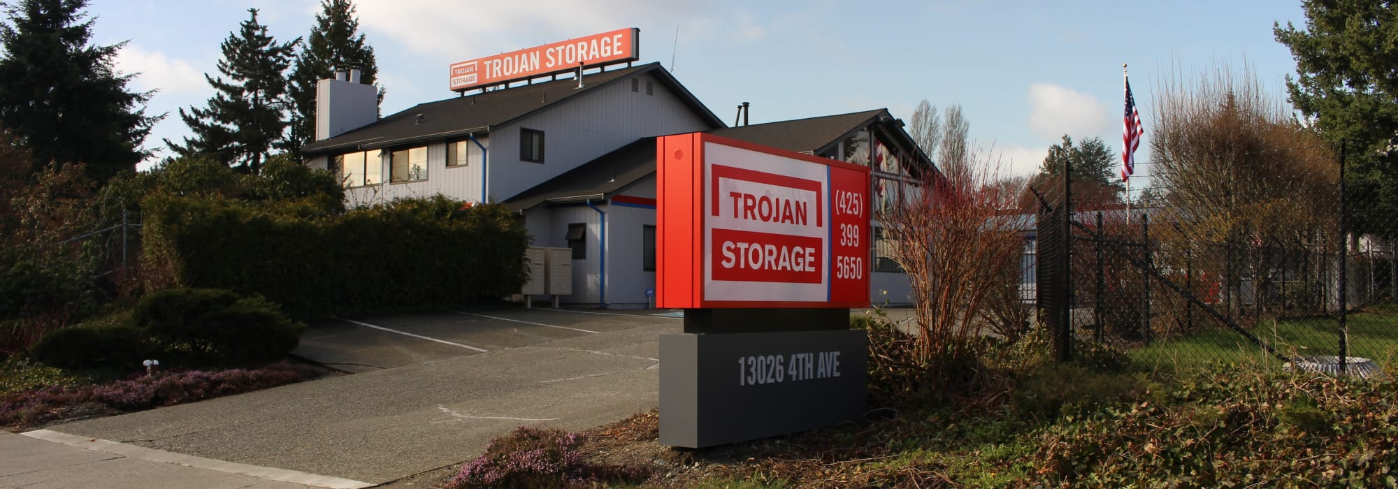 Self storage in Everett, Washington