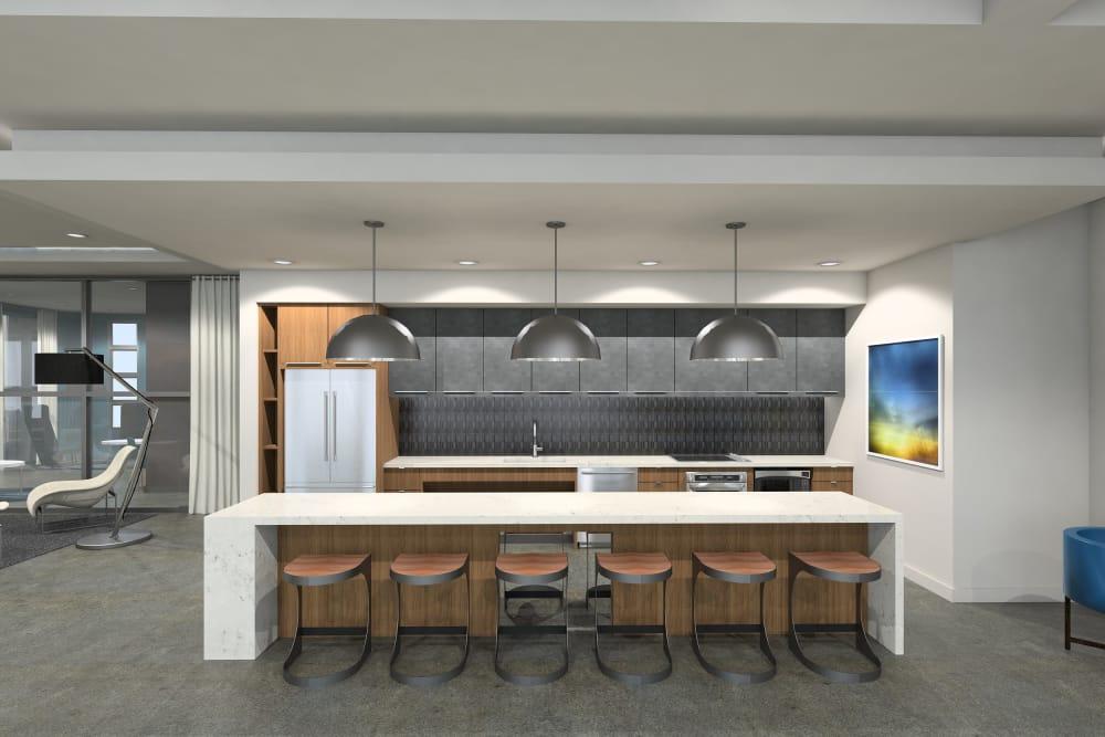 Our apartments in Chandler, Arizona showcase a modern kitchen