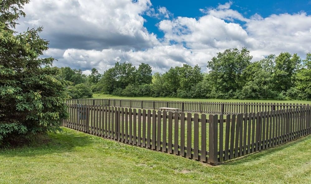 Dog park at High Acres Apartments & Townhomes in Syracuse, New York