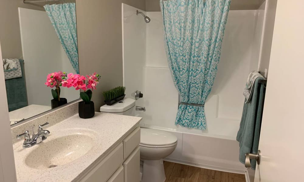 Bathroom at The Villas at Rowland Heights in Rowland Heights, CA