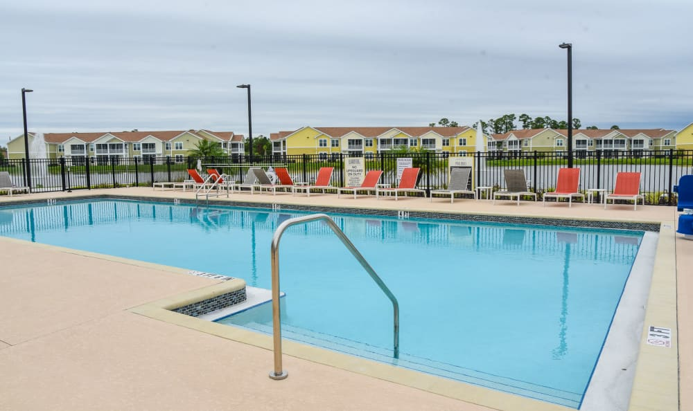 Resort Style pool at Springs at Port Charlotte in Port Charlotte