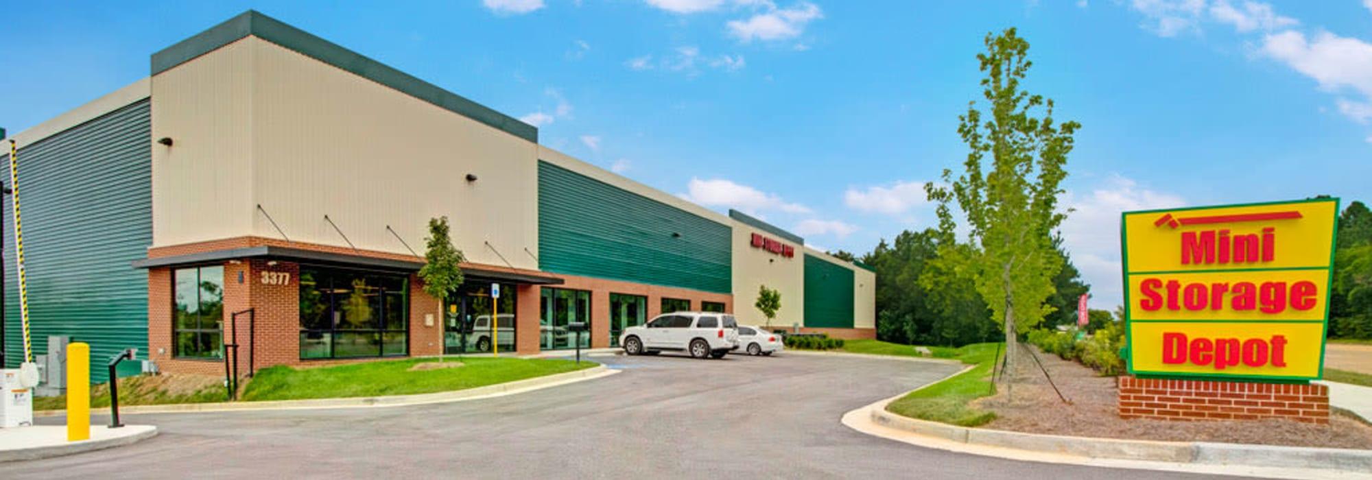 Mini Storage Depot in Fairfield Township, Ohio