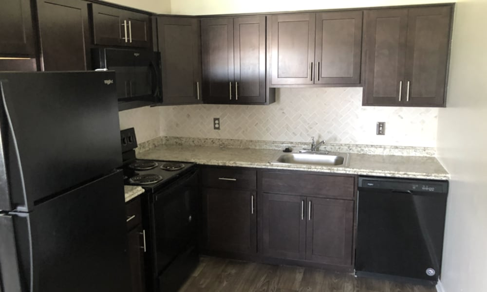 Kitchen at William Penn Village Apartment Homes in New Castle, Delaware