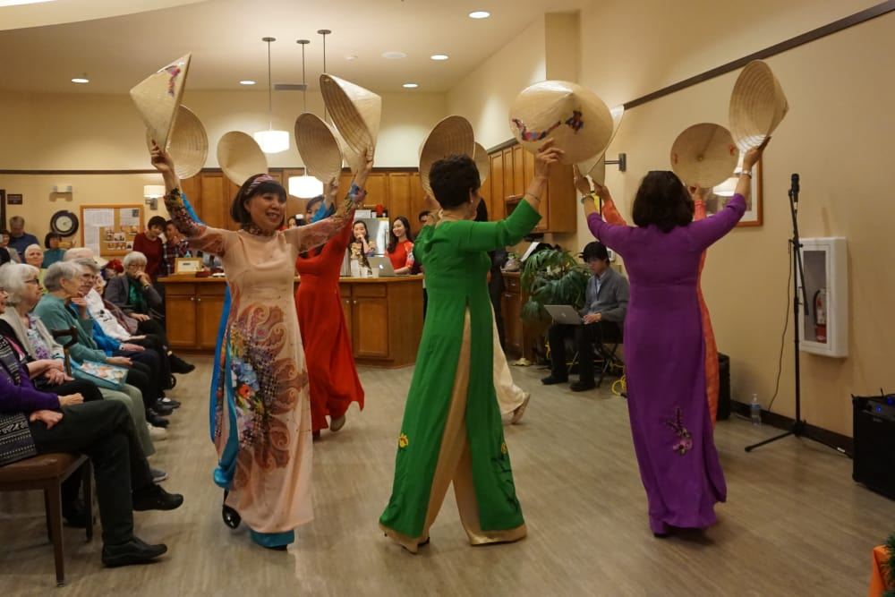 Chinese New Year celebration at Merrill Gardens at Kirkland