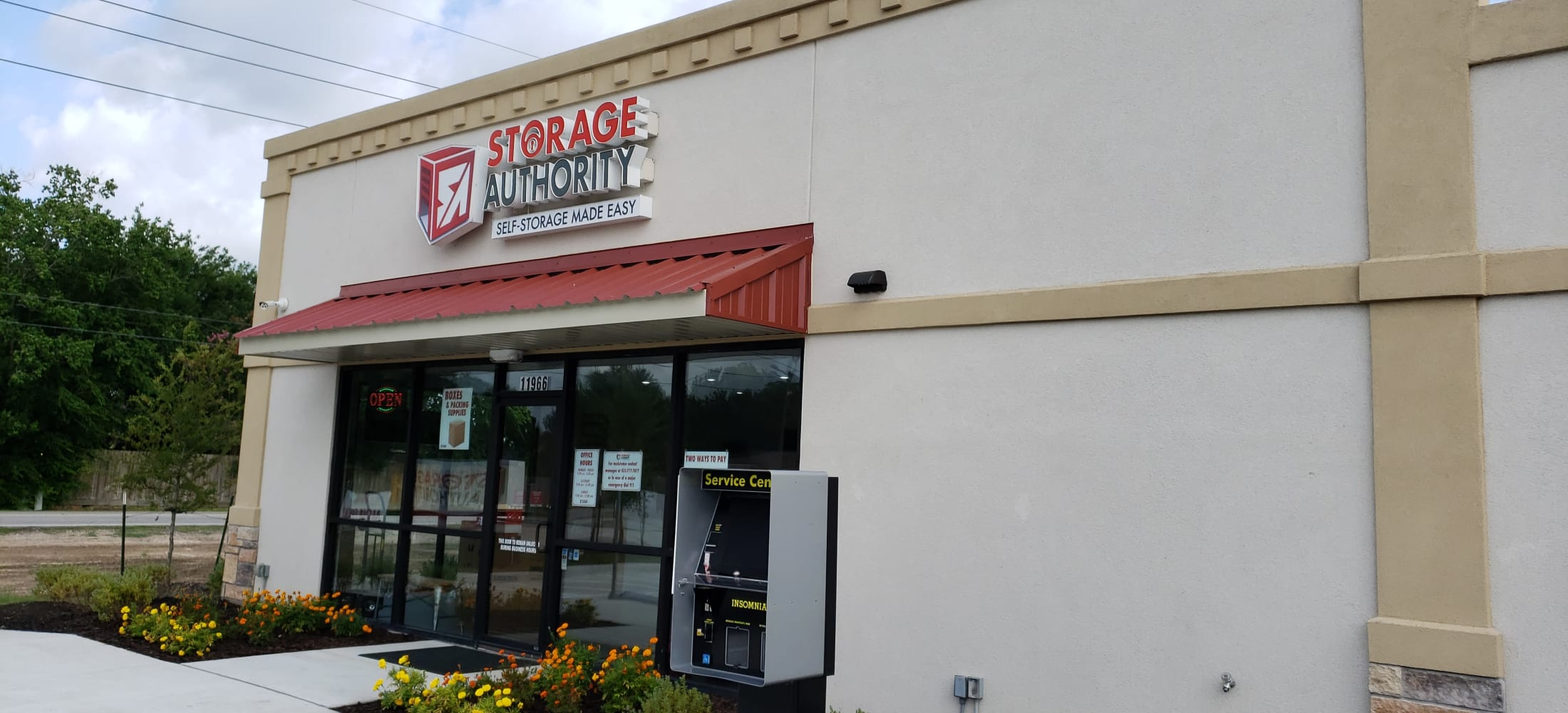 Exterior view of Storage Authority Walters Rd in Houston, TX