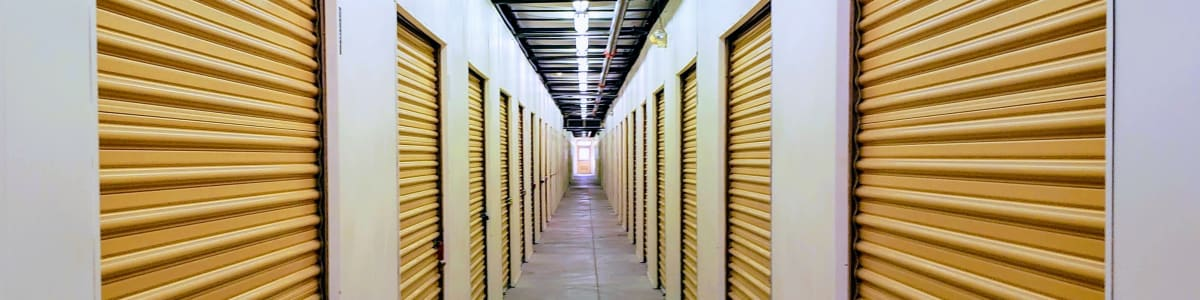 Self storage in Tucson offering boat and RV storage