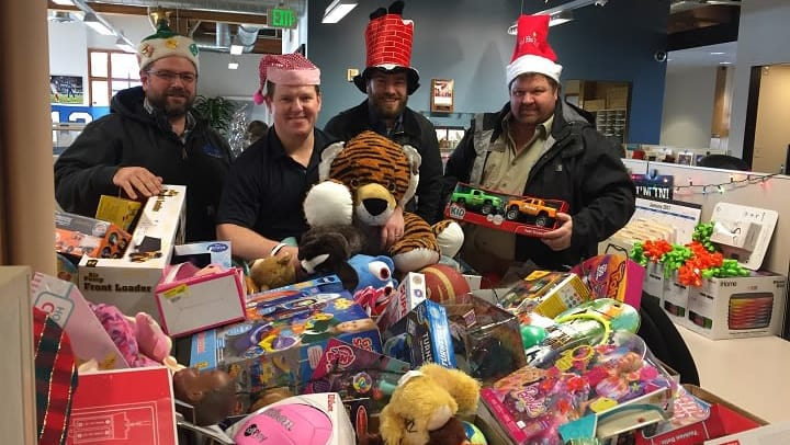 Toys For Tots 2017 Centurylink Seattle : Annual toys for tots kickoff