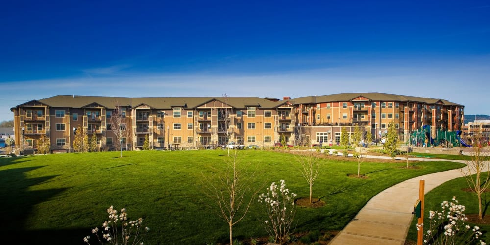 Facility and grounds at The Springs at Tanasbourne in Hillsboro, Oregon