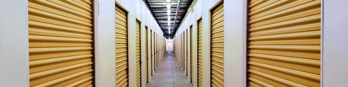 Self storage in Phoenix offering boat and RV storage