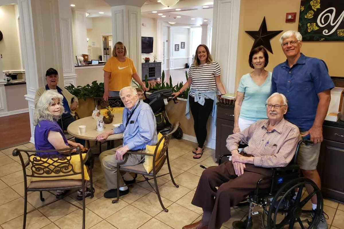 Residents on Fathers Day at Parsons House Frisco in Frisco, Texas