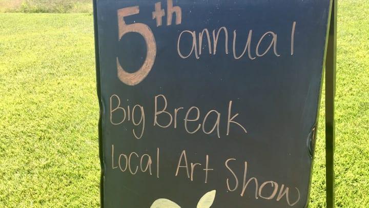 Big Break Art Show Oakley CA