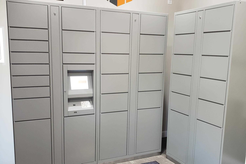 Lockers at Casa Santa Fe Apartments in Scottsdale, Arizona