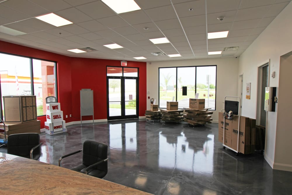 Interior of Storage Authority Mulberry Florida in Mulberry, FL