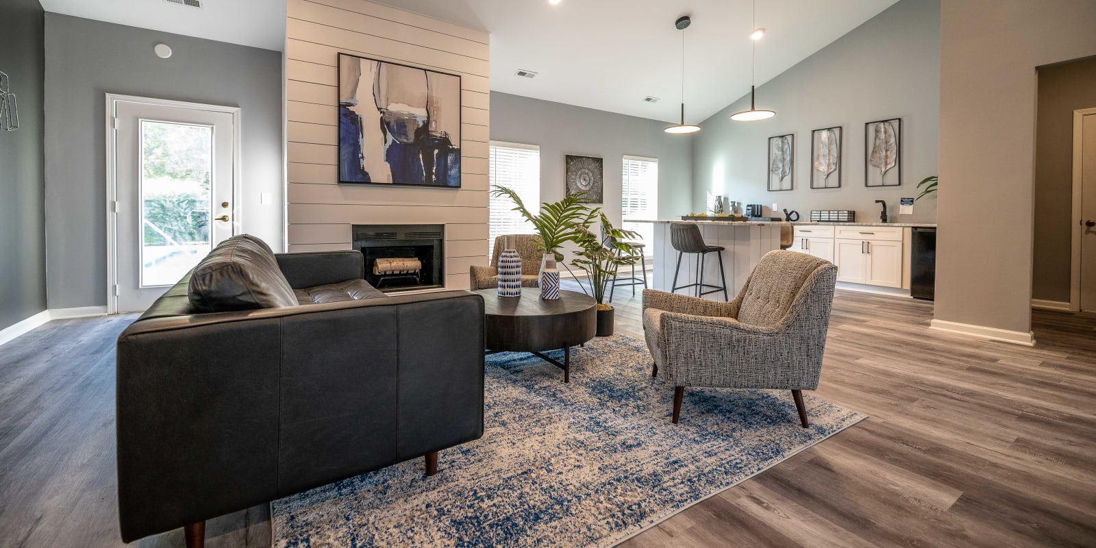 Spacious Clubhouse at Clemmons Station Apartment Homes in Clemmons, North Carolina