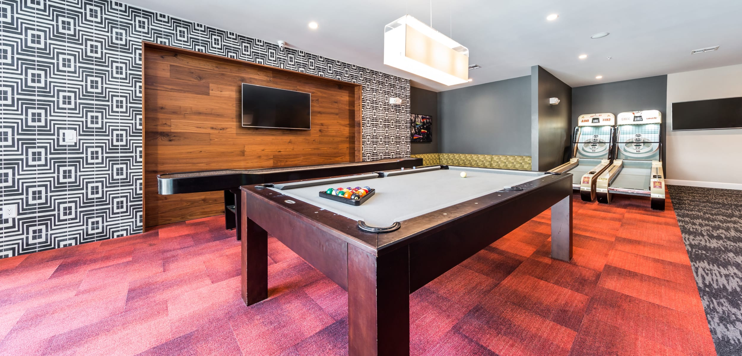 Marq 31's game room in Houston, Texas