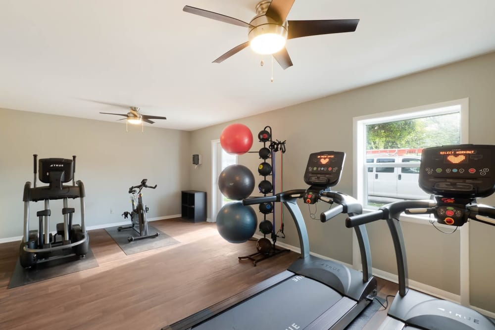 Exercise facility at Riverside North
