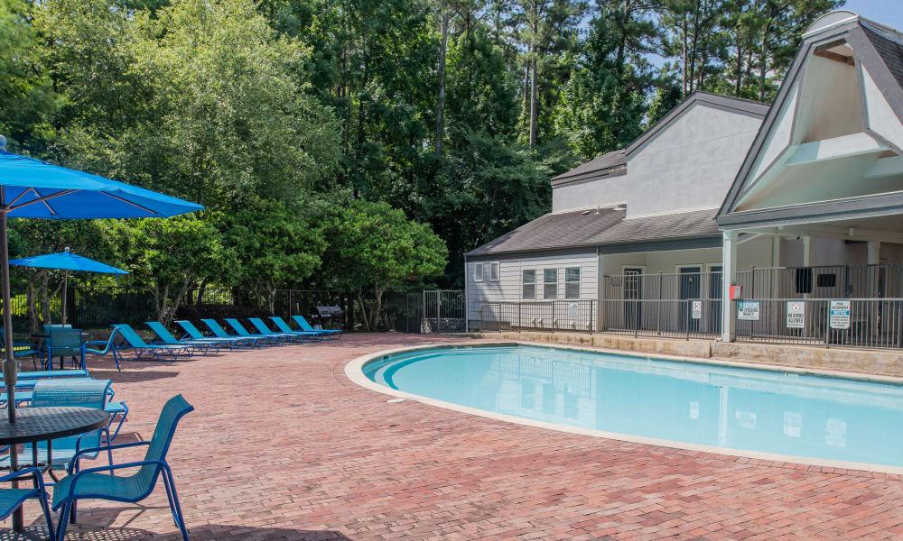 Beautiful pool at The Pointe of Ridgeland in Ridgeland, MS
