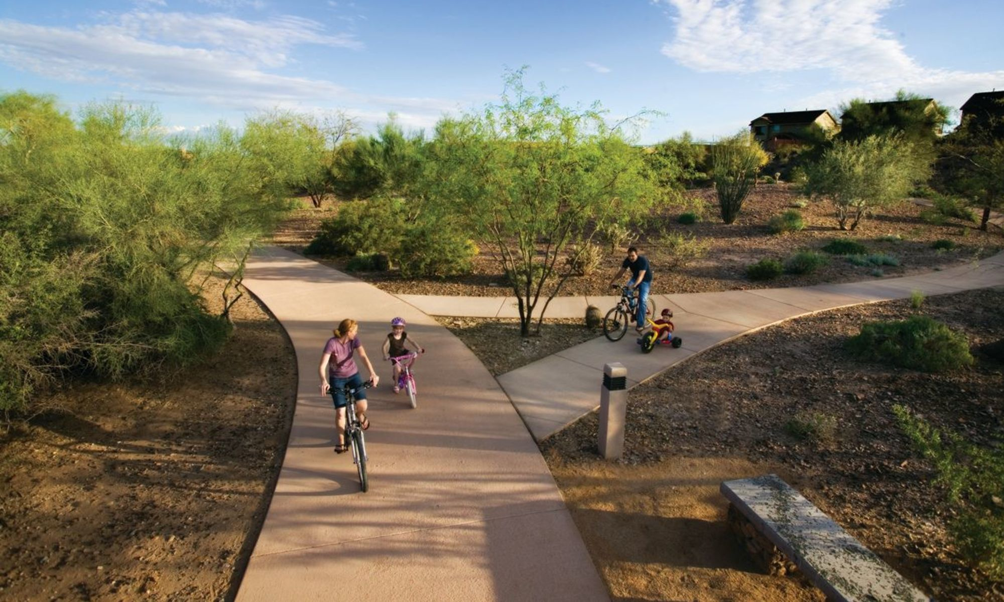 Townhomes in Peoria, Arizona at BB Living at Vistancia