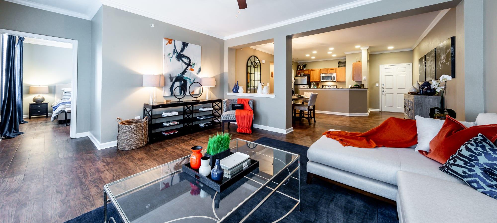 Floor plans at Marquis at Stone Oak in San Antonio, Texas