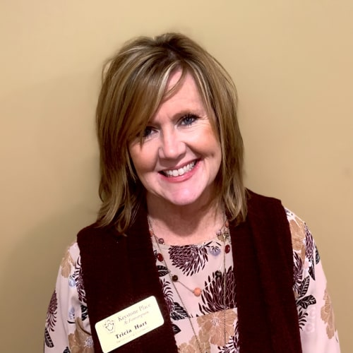 Tricia Hart, Senior Living Counselor of Keystone Place at Forevergreen in North Liberty, Iowa