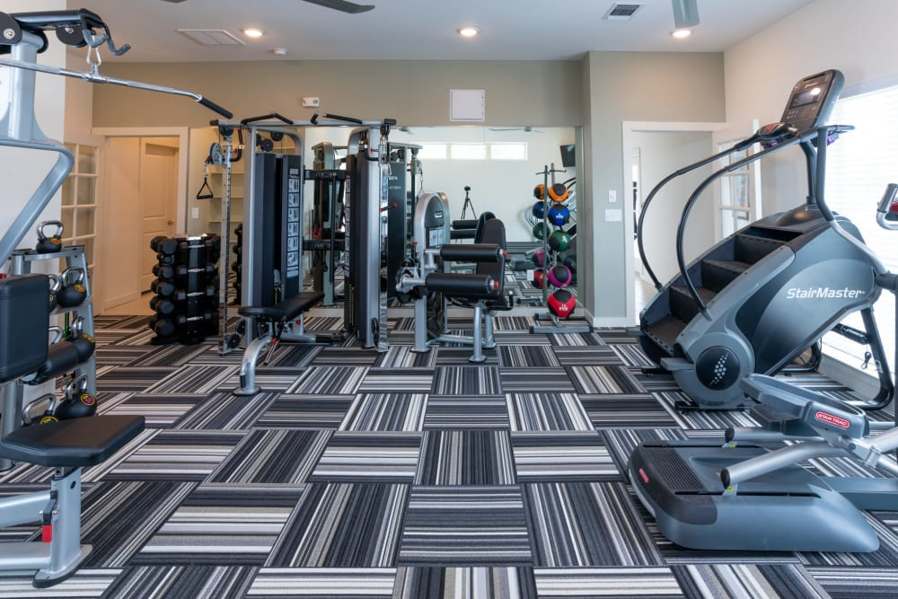 Fitness Center at Exeter Place in San Antonio, Texas