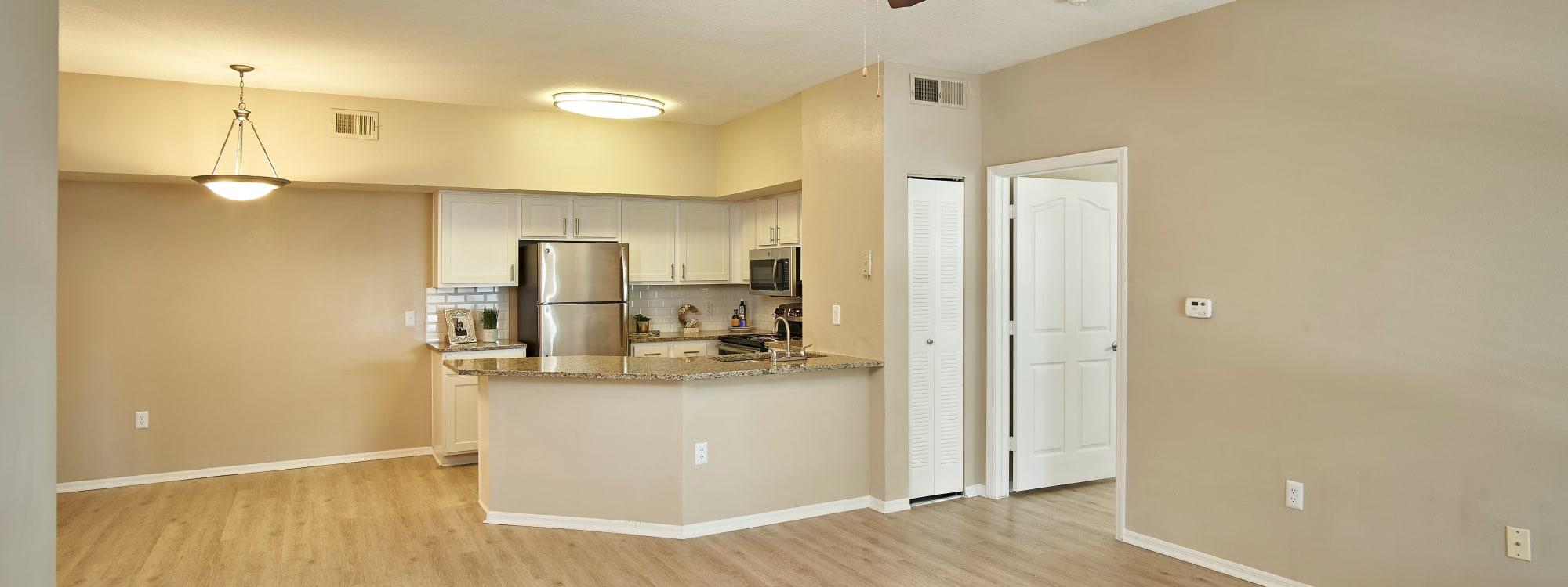 Floor plans at Calais Park Apartments in St Petersburg, Florida